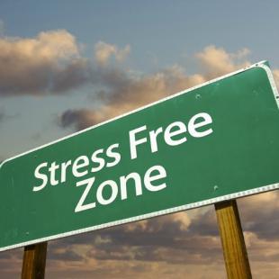 strakke buik stop met stressen