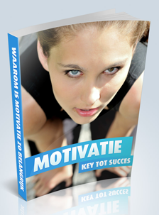E-book motivatie is de key tot succes!